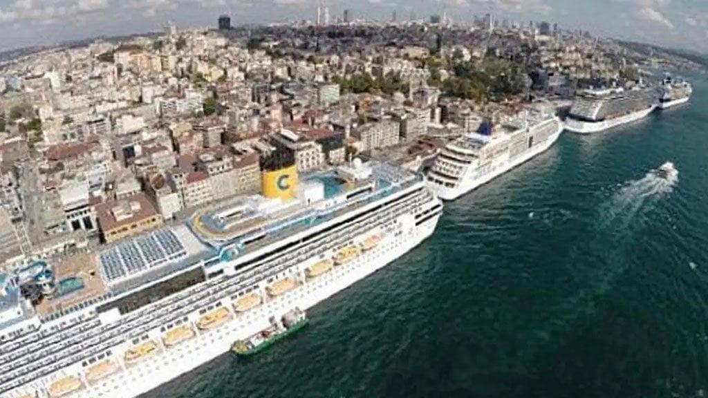 Istanbul Galata Port